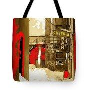 Film Noir William H. Macy Steve Buscemi Fargo 1996 Cheerio Bar Aberdeen South Dakota 1965-2008 Tote Bag