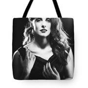 Film Noir Woman Tote Bag