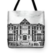 Fine Arts Building - Ball State University Tote Bag