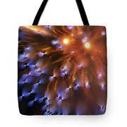 Fireworks Abstract Tote Bag