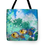 2 Fish Tote Bag