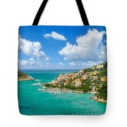 Fisherman Town Of Portovenere, Liguria, Italy Tote Bag