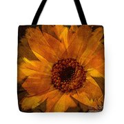 10449 Flower Tote Bag