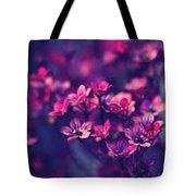 flower Image Tote Bag