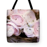 Flower With Painting. Tote Bag