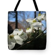 Flowering Dogwood Tote Bag