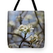 Flowering Trees Tote Bag