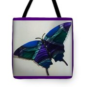 Fly Away Butterfly Tote Bag