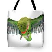 Flying Parrot  Tote Bag