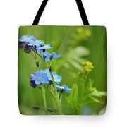 Forget-me-not. Tote Bag