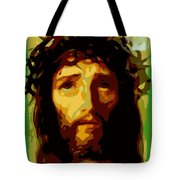 Forgive Them Father Tote Bag