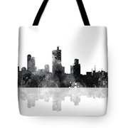 Fort Worth Texas  Skyline Tote Bag