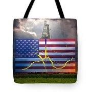 Fracking In The U.s Tote Bag