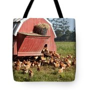 Free Range Chickens Tote Bag