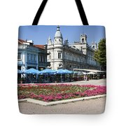 Freedom Square, Ruse, Bulgaria Tote Bag
