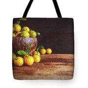 Fresh Kumquat Fruits Tote Bag