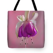 Fuschia Petals Tote Bag