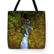 Streaming In The Olympic Rainforest Tote Bag