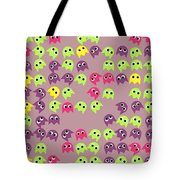 Game Monsters Seamless Generated Pattern Tote Bag