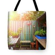 Garden Potting Table Tote Bag