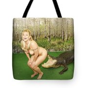 Gator Bites Tote Bag