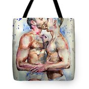 Gay Love Tote Bag