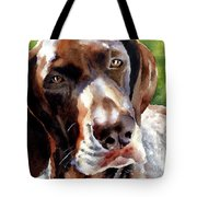 German Short Haired Pointer Tote Bag