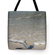 Glass Diamond On The Beach Tote Bag