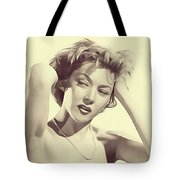 Gloria Grahame, Vintage Actress Tote Bag