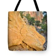 Golden Crest Tote Bag