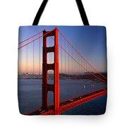 Golden Gate Bridge San Francisco Ca Tote Bag