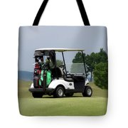Golfing Golf Cart 04 Tote Bag