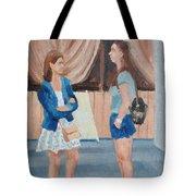 2 Gossip Girls Tote Bag