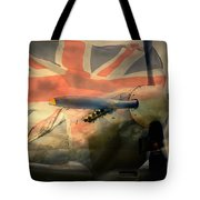 Grace Spitfire Ml407 Tote Bag