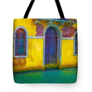 Grand Canal Under The Rain Tote Bag