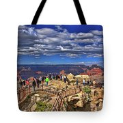 Grand Canyon #  4 - Mather Point Overlook Tote Bag