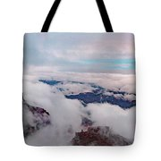 Grand Canyon Above The Clouds Tote Bag