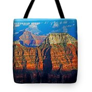 Grand Canyon National Park - Sunset On North Rim  Tote Bag