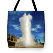 Grand Geyser Tote Bag