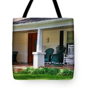 Grand Old House Porch Tote Bag