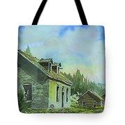 Granite Ghost Town Montana Tote Bag