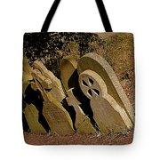 Grave Stones Tote Bag