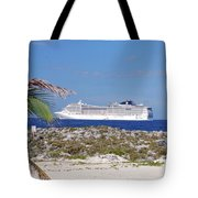 Great Stirrup Cay Tote Bag