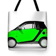 Green Mini Car Tote Bag