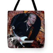 Gregg Allman Art Tote Bag