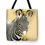 Grevys Zebra, Samburu, Kenya Tote Bag