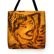 Hair Day - Tile Tote Bag