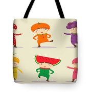 Happy Children  Tote Bag
