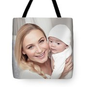 Happy Family At Home Tote Bag