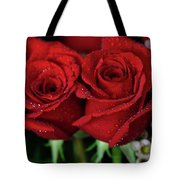 Happy Valentines Day Tote Bag by Tracy Hall